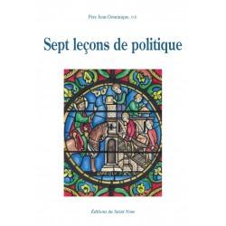 Sept leçons de politique